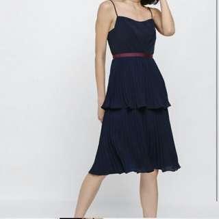 Great for Vday! LoveBonito Pleated Layered Dress