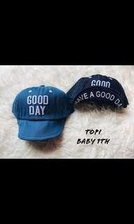 Good day topi baby lucu