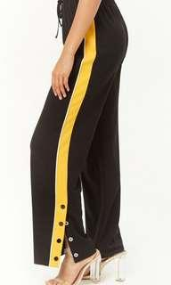 Track Pants With Buttons
