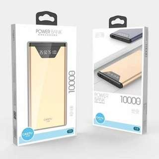 Castu T19 10000mAh Polymer Powerbank With Led Display