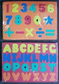 Eva Puzzle Mat - ABC / 123
