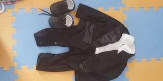 Pre loved baby suit with shoes