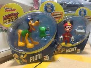 (2 @ $8) Disney Mickey and Pluto (Roadster Racers)