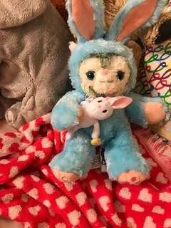 🚚 畫家貓娃娃 復活節兔款