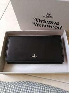 Vivienne Westwood Black Leather Wallet Man Orb