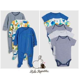 KIDS/ BABY - Sleepsuit/ Bodysuit/ Tshirt/ Leggings/ Bib/ Shoe/ Socks