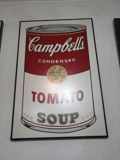 Poster Campbell Soup