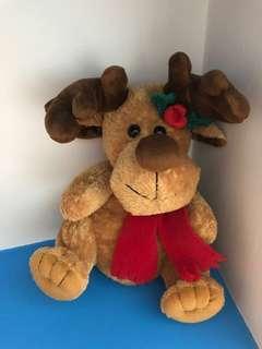 Minibaby Rudolph Reindeer Stuffed Plush Caribou Deer Cute for Babies Kids
