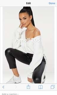 Fashion nova long sleeve slouch