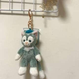 🚚 畫家貓 娃娃 吊飾 鑰匙圈 達菲好朋友