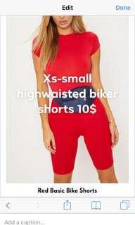 Pretty little thing biker shorts