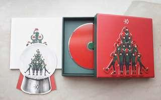 EXO Miracles in December Chinese Version (OT 12 Snowglobe, No Poster)