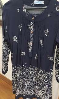 Dark blue tunic