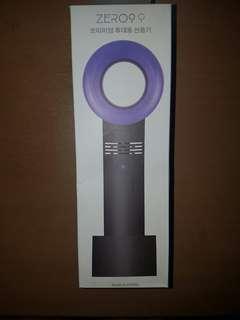 ZERO9 KIPAS PORTABLE BLADELESS USB RECHARGEABLE