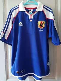 Authentic Japan 2001 Confederations Cup kit