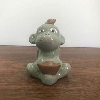 🚚 Ceramic Zodiac-Monkey (with Packing Carton Box)