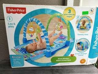 Pre❤ Fisher-Price Kick & Crawl Baby Gym