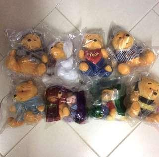 Pooh the bears collection