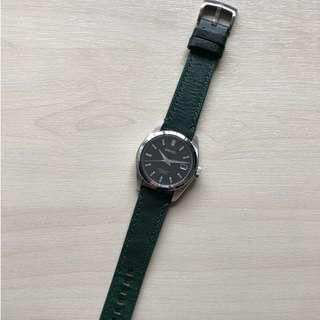 Green Leather Strap 20mm