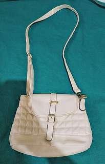 Bag (White Sling Bag)