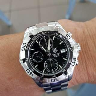 Tag Heuer Aquaracer CAF2110 automatic (reduced price)
