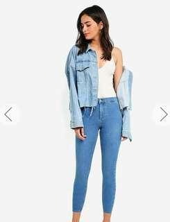 Mid Blue Joni Jeans