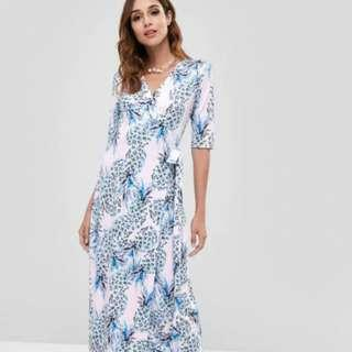 Maxi Wrap Dress BNWT