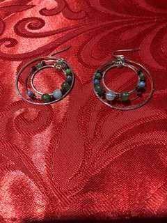 Fancy dangling earrings