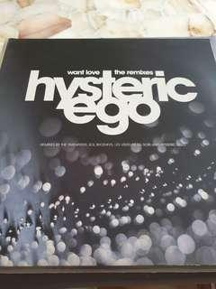 12in dance single Want Love Hysteric Ego