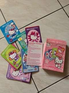 Hello kitty old maid game (4 and up)