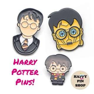 [AVAIL @ Cine] Harry Potter Enamel Pins