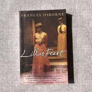 Lilla's Feast by Frances Osborne #CNY888