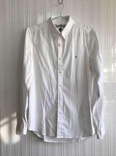 Authentic Replay white casual shirt