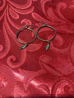 Fancy hook earrings