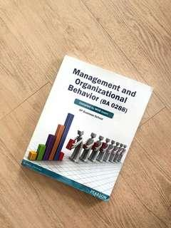 Management and Organizational Behavior