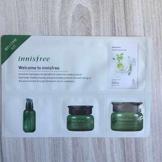 Innisfree Green Tea Welcome Kit