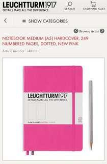 [PRICE REDUCED] Leuchtturm1917 Dotted Notebook