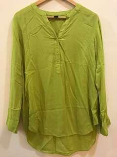 Neon Green Tunic