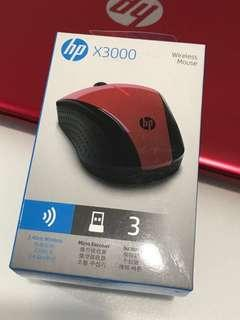 HP X3000 Wireless Mouse - NEW Sealed in a box #CNY888
