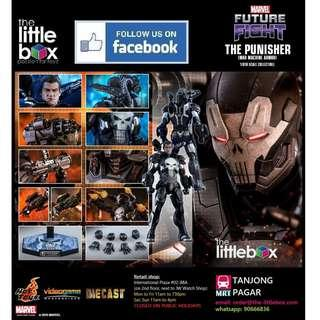 Hot Toys 1/6 Scale VGM33D28 MARVEL Future Fight  The Punisher (War Machine Armor)