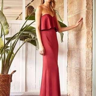 BNWT RODEO SHOW SIZE 8 GLORIA MAXI DRESS / RRP $329