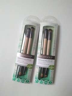 🚚 Ecotools 眼部化妝刷兩入組/雙頭化妝刷