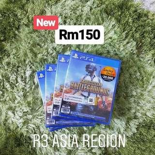 [New][Hot] PUBG PS4 R3 Asia Region