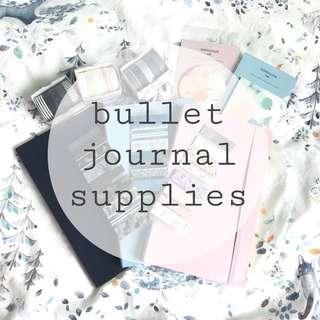 Bullet Journal Supplies Set