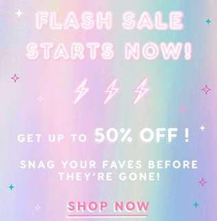 [💓COLOURPOP SALE💓] COLOURPOP 50% OFF SALE FOR ONLY HOLIDAY COLLECTION PREORDER PO SPREE