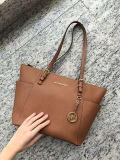 Michael Kors Tote Bag (Brown) 側孭袋 (咖啡色)
