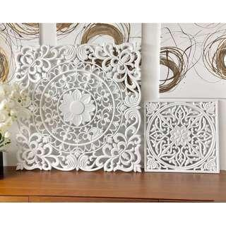 Wall Decor/Wooden Carved Frame/ Balinese Carved wood