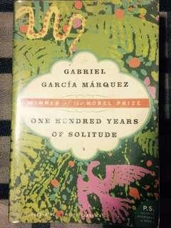 Book: One Hundred Years of Solitude by Gabriel Garcia Marquez
