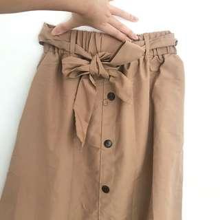 bottom brown skirt