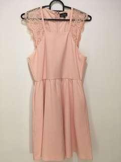 🚚 ZALORA Dusty Pink Dress